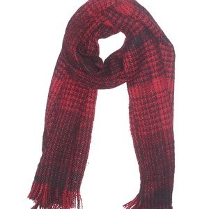 🐈 3 for $30 Big Thick Red & Black Winter Scarf